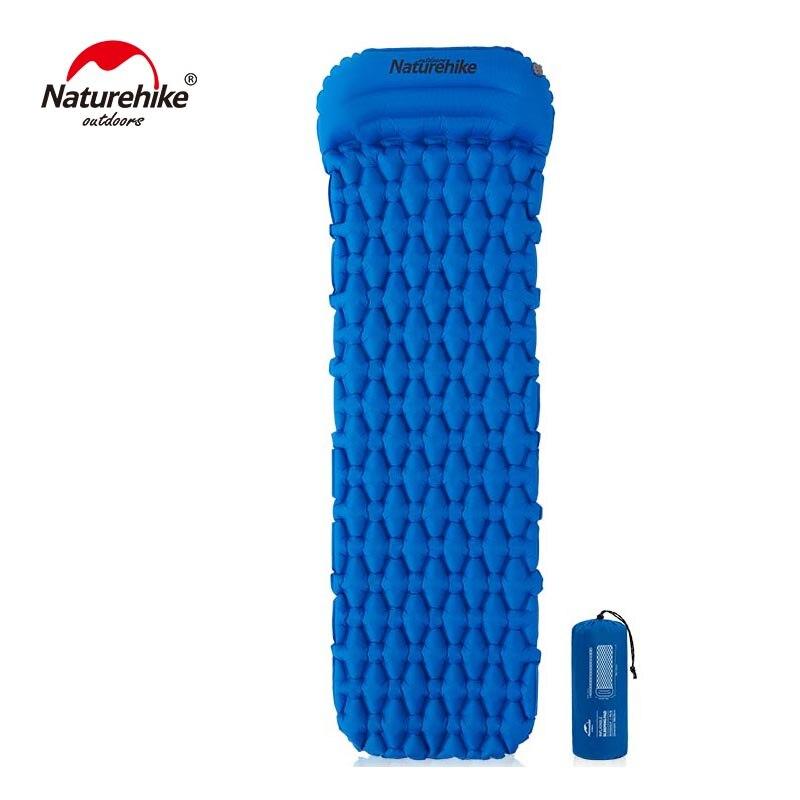 Naturehike Nylon TPU Camping Mat Sleeping Pad Lightweight Moistureproof Air Mattress Portable Inflatable NH19Z012-P