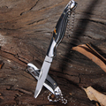 knife folding blade small camping survival fixed blade mini rescue tools knife keychain tool hunting pocket military knives
