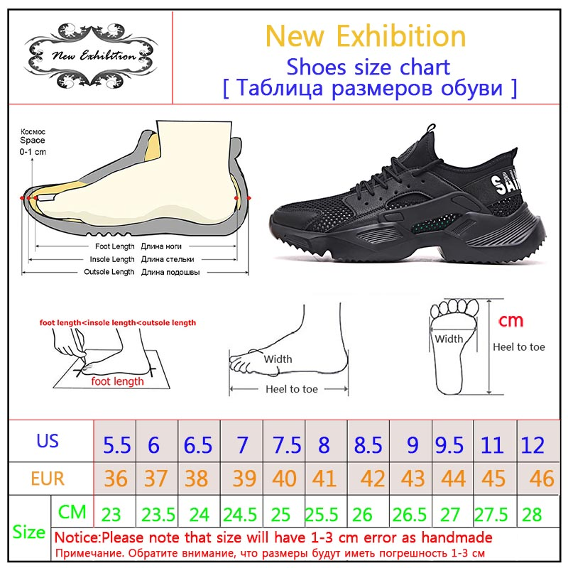 New exhibition Work Safety Shoes 2019 fashion sneakers Ultra-light soft bottom Men Breathable Anti-smashing Steel Toe Work Boots 6