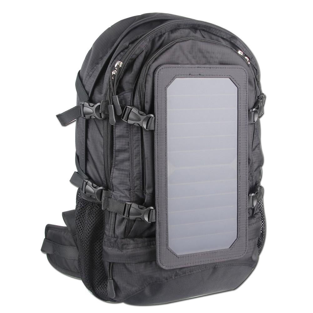 Solar Powered Hiking Backpack Solar Panel Charge for Electronic Products Outdoor Mountaineering Bag Camping Travel Knapsack 65l professional outdoor mountaineering bag camouflage bag large capacity multi function camping hiking backpack outdoor travel