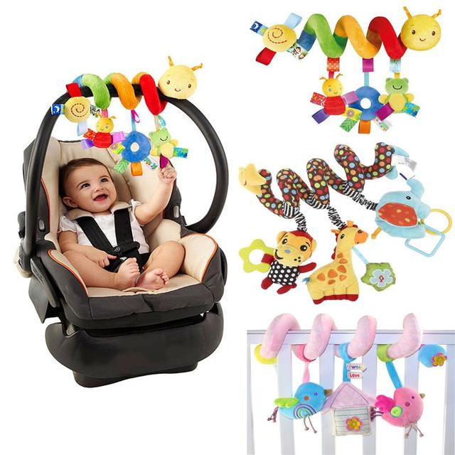 Cute Baby Seat Hanging Toys Lovely Infant Spiral Bed Stroller Non ...
