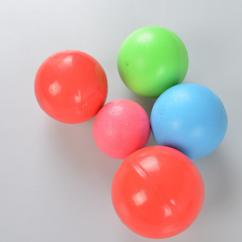 Pet toys rubber solid ball cat dog training toy dog pet putty rubber bouncing ball 171026-12