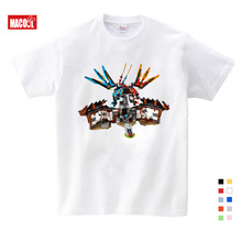 Boys T Shirt Piece toy T-shirt Baby Ninjago Boy T shirt long Sleeves Children Summer Clothes Toddler Boy tops tees 3-16 Years