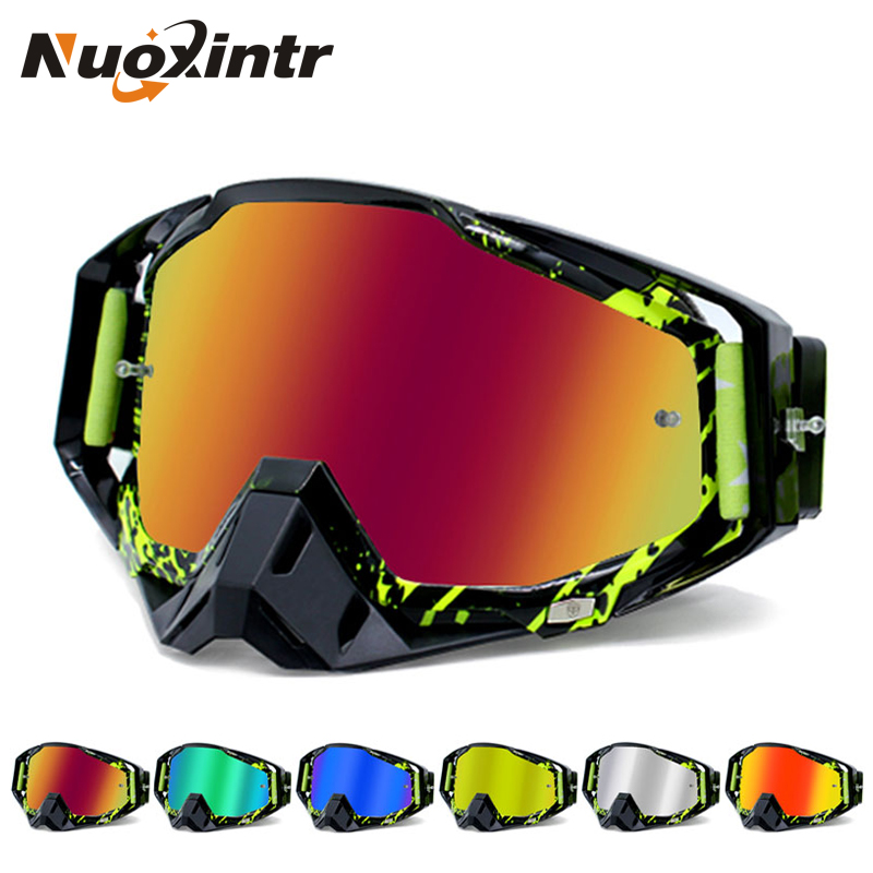 Nuoxintr ROAOPP Brand Motorcycle Goggles ATV Off-Road Helmet Ski Casque Motorcycle Glasses Racing Moto Bike Sunglasses(China)