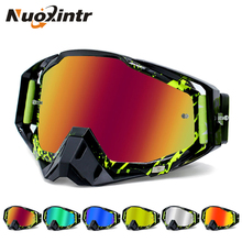 Купить с кэшбэком Nuoxintr ROAOPP Brand Motorcycle Goggles ATV Off-Road Helmet Ski Casque Motorcycle Glasses Racing Moto Bike Sunglasses