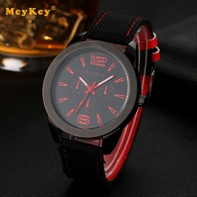 MCYKCY Reloj Electrónico de la Marca Business Casual reloj de Cuarzo de Cuero Negro Reloj Para Hombre de Lujo Moda Masculina Del Negocio Del Deporte