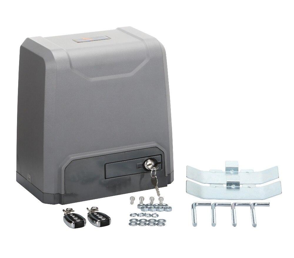 1000kg automatic sliding gate opener motor(photocell flashing lamp GSM opener keypad optional)