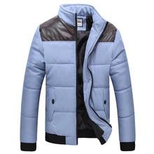НОВЫЙ 2015 горячая Зима мужская Одежда napapijri Куртки Плюс Размер Хлопок Мужская Куртка Человек Пальто кожа цвет сшивание хлопка куртка