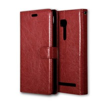 4.5 inch Leather case for Asus Zenfone GO x014d ZB452KG flip cover case housing for Asus ZB ZB452 452 452KG KG phone covers case