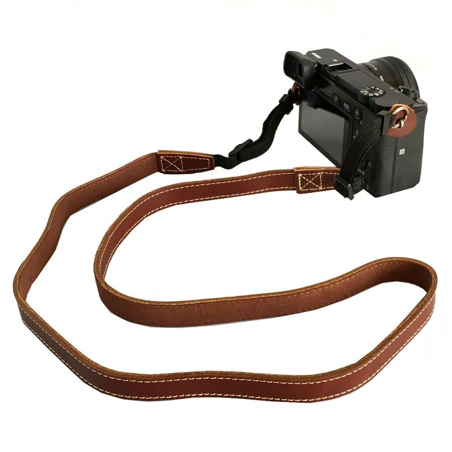 Echtes Leder-schulter-kamera Umhängeband für Fujifilm Fuji X100T X100F X-T10 XT20 X-A1 XA2 X-A3 XM1 X-E2 SLR Mirrorless kamera