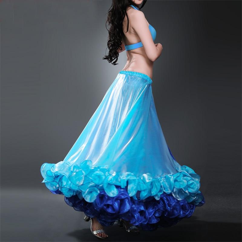 Noviteti i pos. namene ... Plesna odeća ... 32783973345 ... 3 ... 2018 2018 Professional Belly Dance Costume Waves Skirt Dress with S Push Carnival Bollywood ...
