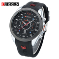 Curren 2017 Mens Watches Top Brand Luxury Men's Sports Quartz   Wristwatches Relogio Masculino Men Curren Watches 8166