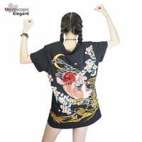 2016 Japan YOKOSUKA Embroidery Dragon And Koi Baseball Uniform Unisex Shirt Punk Funk Rock Fashion Baseball