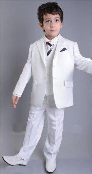 SME libero/Custom Design Dimensione e Colore Del Capretto Bambini Wedding Suit Ragazzi Abbigliamento (Jacket + Pants + Tie + gilet) Boys abbigliamento G982SME libero/Custom Design Dimensione e Colore Del Capretto Bambini Wedding Suit Ragazzi Abbigliamento (Jacket + Pants + Tie + gilet) Boys abbigliamento G982
