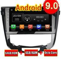 Topnavi Android 9,0 автомобильный медиацентр плеер для Nissan Qashqai Авто 2013 2014 2015 2016 Радио Стерео 2DIN gps навигация без DVD