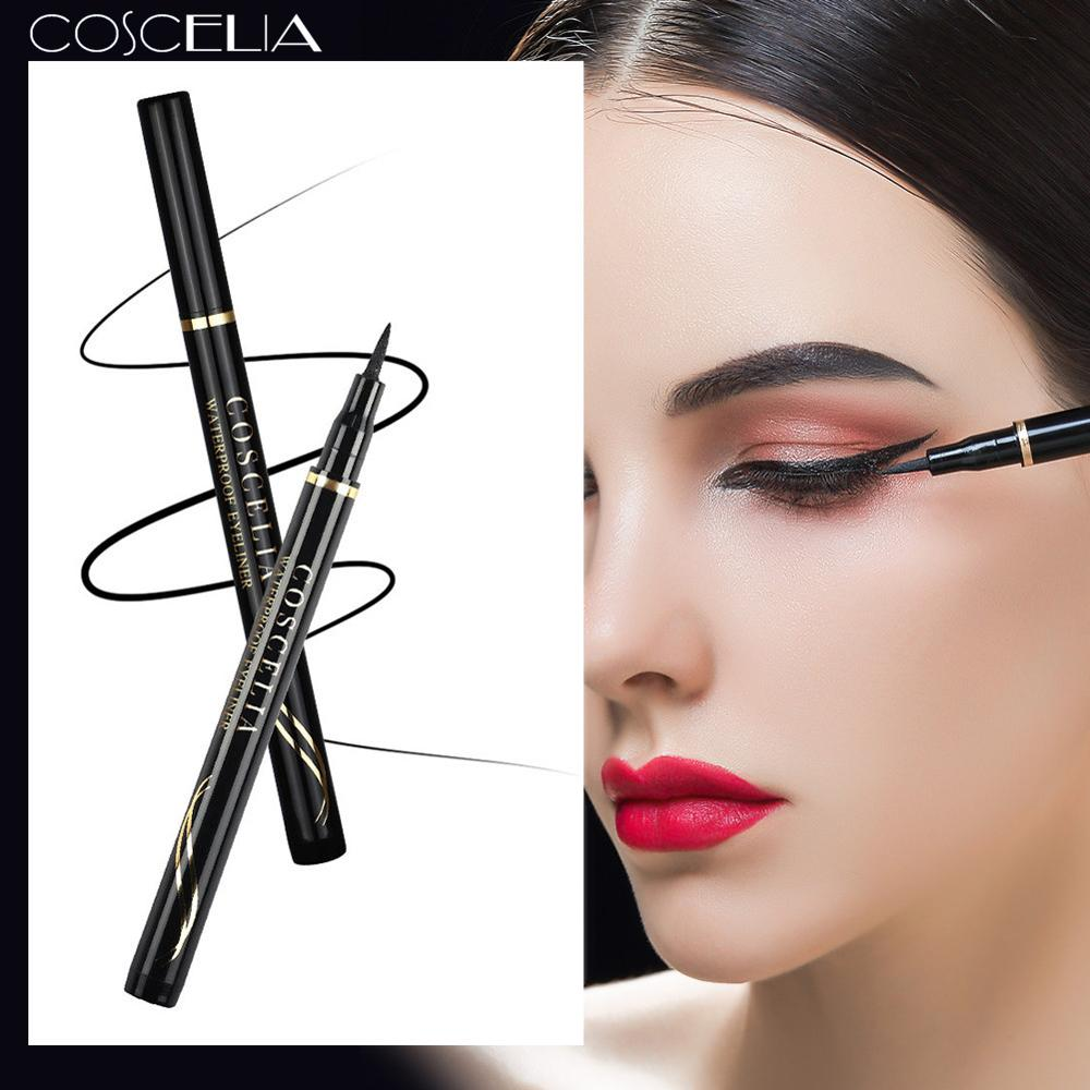 New Black Fine Long Lasting Eyeliner Water Pen Waterproof Quick-drying Long-lasting Eye Liner Smooth Make Up Tools