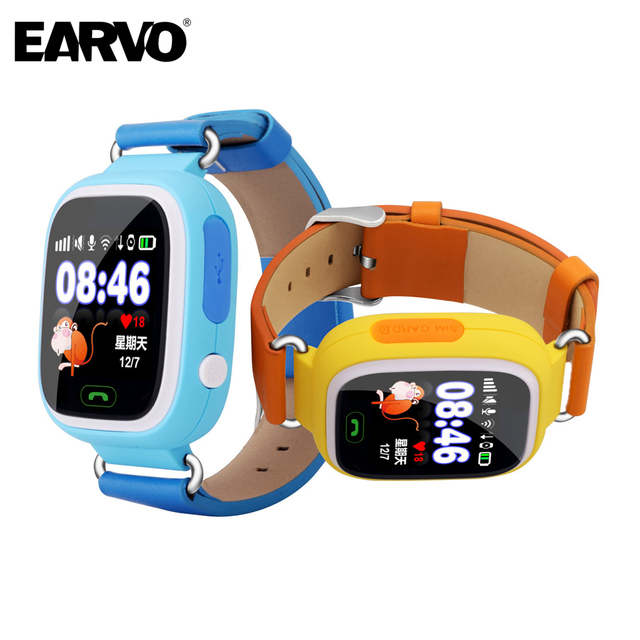 GPS Tracker for Kids Child Q90 Watch Touch Screen WIFI SOS Call Location Finder Device Smart Watch Anti Lost Reminder PK Q60 Q80