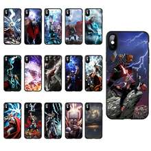 DREAMFOX M360 Thor Black Soft TPU Silicone Case Cover For Apple iPhone XR XS Max X 8 7 6 6S Plus 5 5S 5G SE(China)