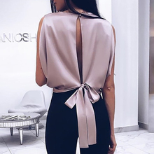 2019 Spring Women Elegant Party Shirt