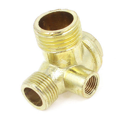 9mm Diameter Female Threaded Gold Tone Brass Air Compressor Check Valve футболка mavango футболка