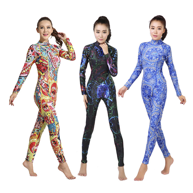 3mm SEAC Sports Suits Women's Full Body Long Sleeve Diving Suit Keep Warm Rash Guards Jumpsuit for Swimming Surfing Clothing seac sub гарпун seac нерж сталь для пневматического ружья asso 50