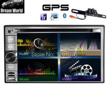 Android 4.2 Dual-CPU 6.2″ Double 2Din 3G-Wifi Car GPS Navigation Car DVD Player BT Indash Radio In Deck Stereo+CAMERA