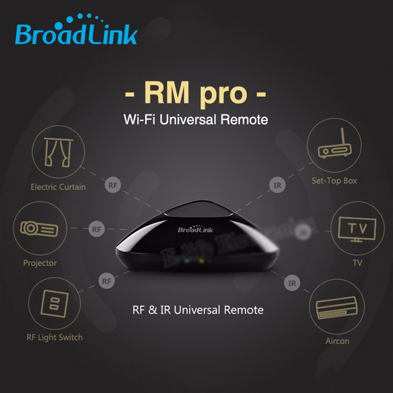 Free shipping Broadlink RM2 RM PRO US Standard Smart Home Automation Remote Controller WIFI+ IR+ RF Switch IOS Android smart home automation broadlink rm2 rm pro universal intelligent remote controller wifi ir rf switch via ios android phone