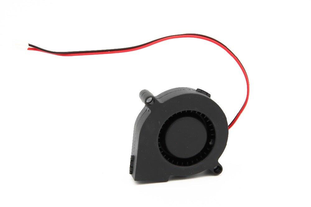 1 Stück 12 V Dc 50mm Schlag Radial Lüfter Hotend Extruder Für Reprap 3d-drucker 2017 Neue Heiße Gut FüR Energie Und Die Milz