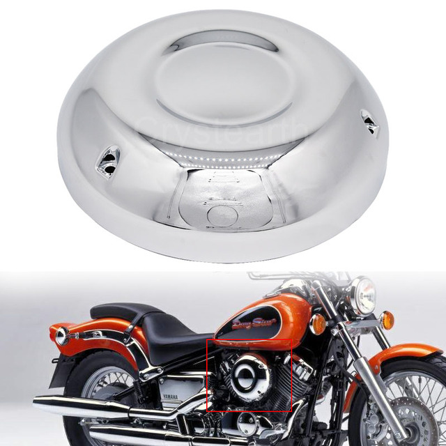 US $30 9 |Air Filter Cleaner Case Cover Fairing Side Guard Frame Protector  For Yamaha V Star 650 / DragStar 650 / XVS650 / XVS650A 96 13-in Covers &