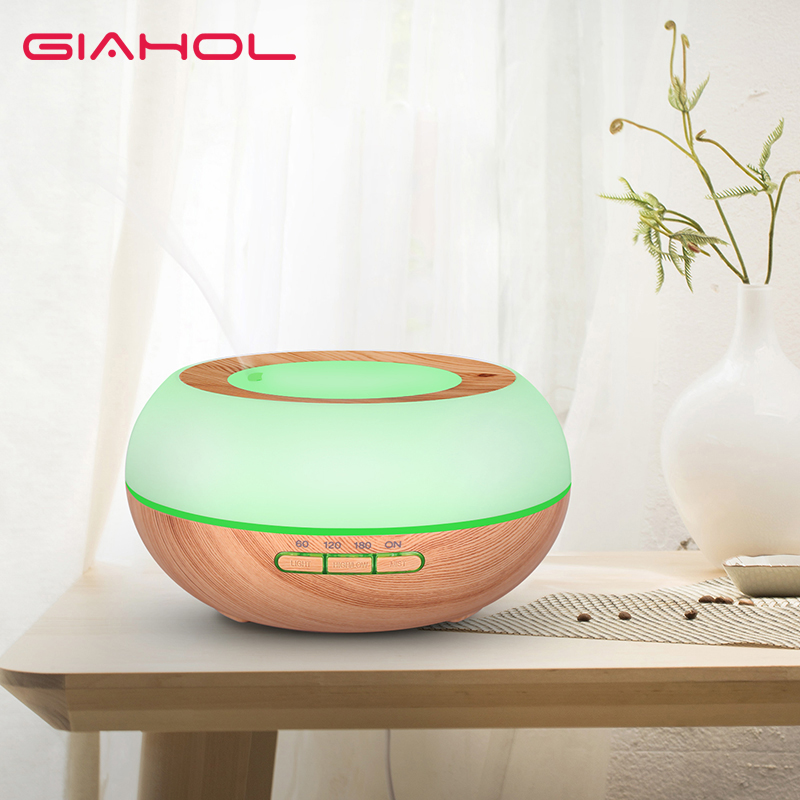 Essential Oil Diffuser Aroma Mist Humidifier with Waterless Auto Shut off Diffuser 7 Color Change LED Light BPA Free For Home