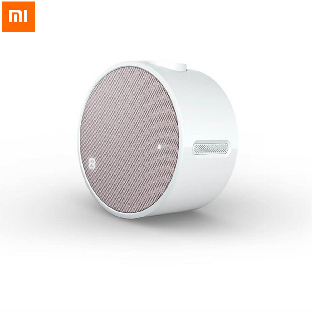 Original Xiaomi Alarm Clock Portable Mini 2600mAh Music Bluetooth 4 1 Remote Control For Smart Phones
