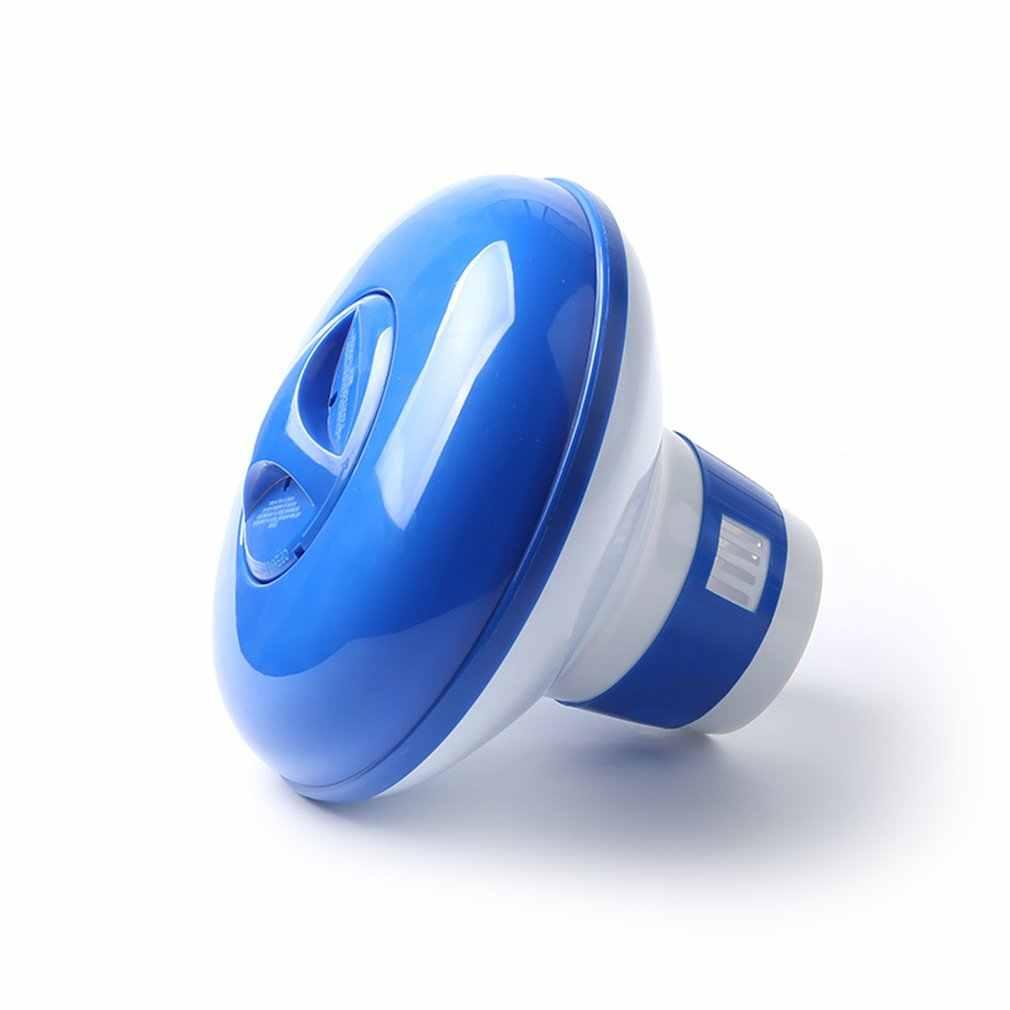 Kimia Klorin Tablet Mengambang Dispenser Bromin Tablet Pemegang Automatic Pool Chemical Dispenser untuk Kolam Renang Spa