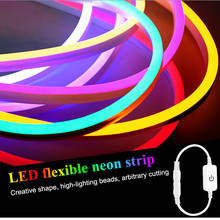 New Led flexible light strip outdoor waterproof neon line la