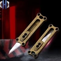 Mini Utility Knife Paper Knife Portable Can Be Hanging Key Ring Pocket Knife Demolition EDC Knife