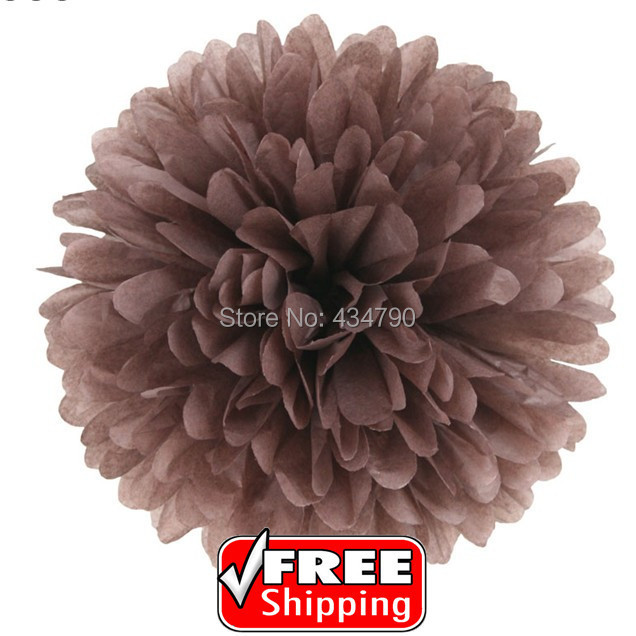 20pcs 820cm cheap brown hanging paper pom poms ukholiday party 20pcs 820cm cheap brown hanging paper pom poms ukholiday party mightylinksfo