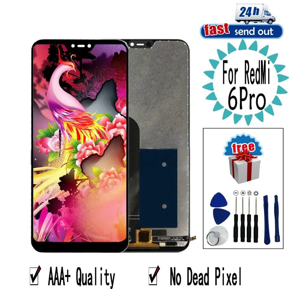 5.84 ''LCD Pour Xiao mi rouge Mi 6 pro 6Pro Lcd Affichage POUR Xiao Mi Mi A2 lite tactile écran Testé Digitizer Assemblée