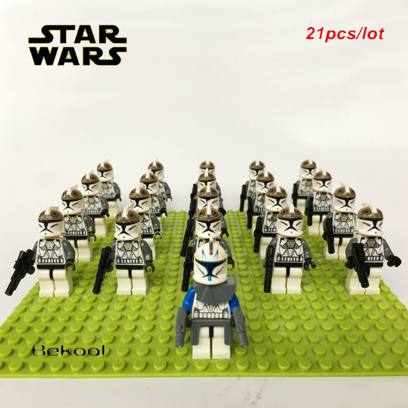 Lego Minifig Star Wars ~ Clone Gunner Trooper From Sets 8014 8039 Soldier