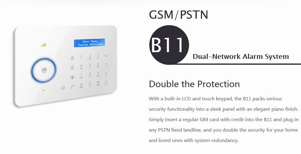 315mhz GSM Last Chuango 3