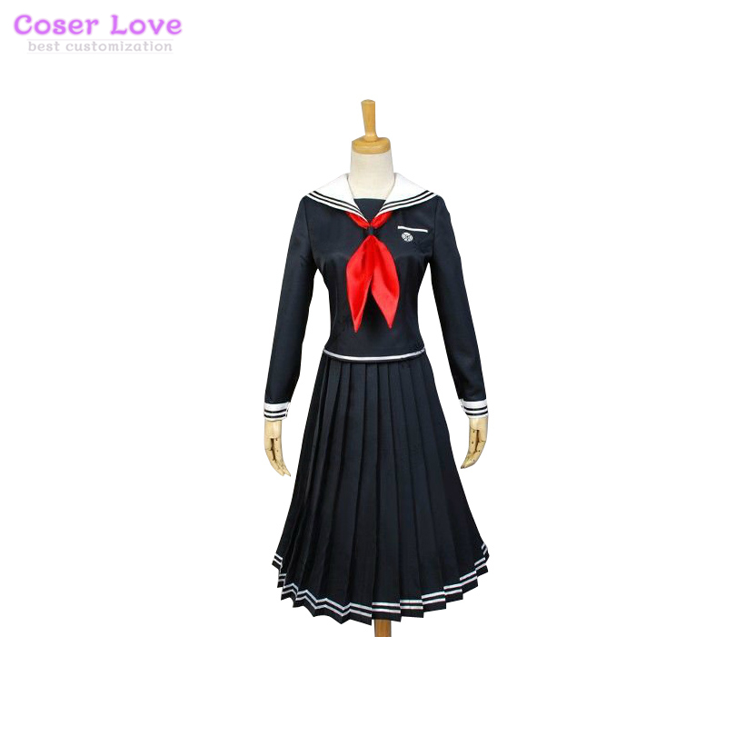 Danganronpa: Trigger Happy Havoc Fukawa Touko Cosplay Halloween Christmas Cosplay Costume