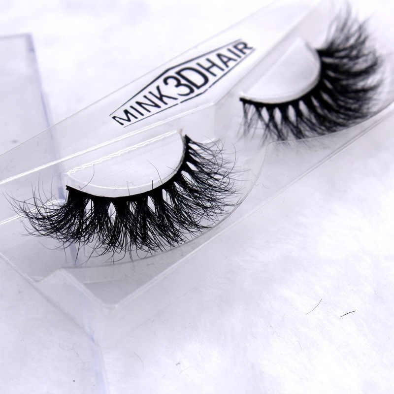 c4454ed02ac ... L023 3D mink hair Thick Long False Eyelashes Thick Natural Fake Eye  Lashes Professional Makeup Crossing
