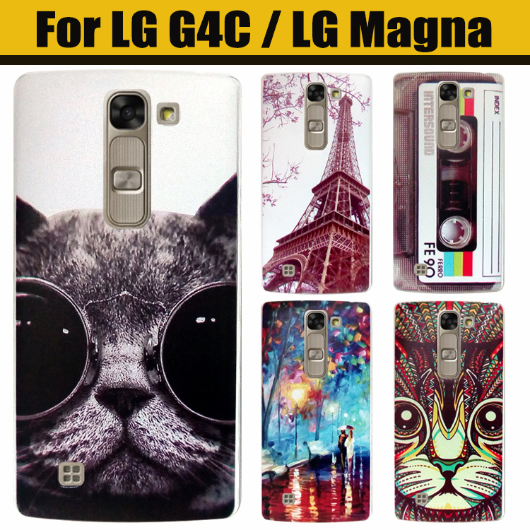 For LG Magna Case For LG G4C Case Plastic Cartoon Hard Cover Case For LG Magna G4 mini G4C C90 H520N H502F H500F Phone Case