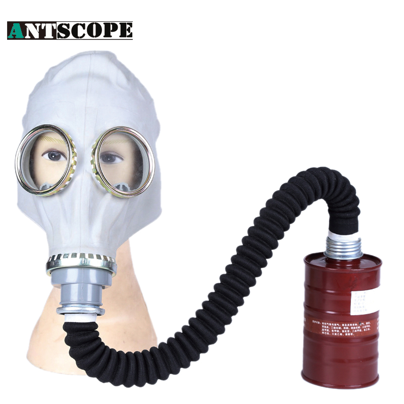 Gas Mask Filter Mask Formaldehyde Pesticide Gas Spray Paint Chemical Work Dust Protective Respirator Full Facepiece Respirator free shiping xhzlc60 fire escape smoking chemical protection mask