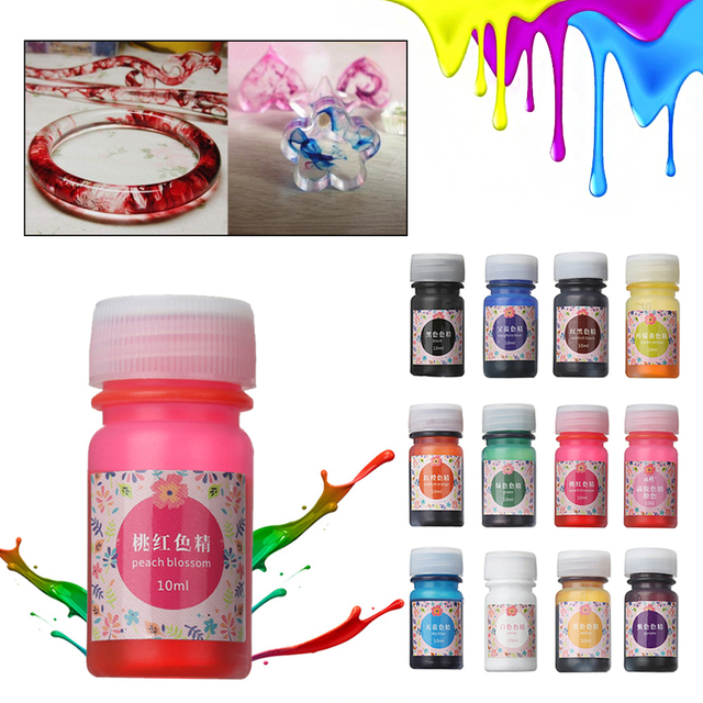 1pc 13g Hot Epoxy Color UV Resin Coloring Dye Colorant | Resin ...