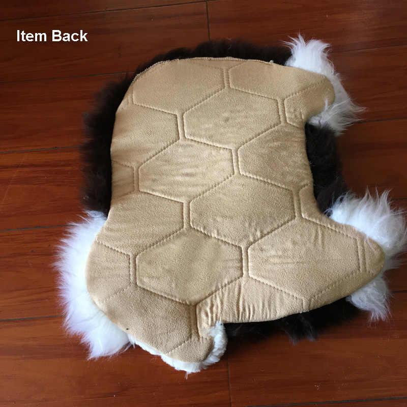 Зимние шерстяные Чехлы для автомобильных сидений, милые Мультяшные овечьи плюшевые меховые универсальные автомобильные интерьерные подушки для стула, дивана, автомобиля, передние сиденья