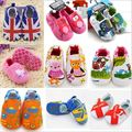 Retail hot sell styles Guaranteed soft soled baby first Walker red spider man baby shoes boy girl sapatos