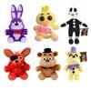 Five Nights At Freddy 25cm Size Bear Fox Duck Rabbit Clown Kids Juguetes Plush Toys WJ364