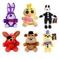 Cinco Noches en Freddy 25 cm Tamaño Bear & Fox & Duck & Rabbit & Clown Niños juguetes Juguetes de Peluche WJ506