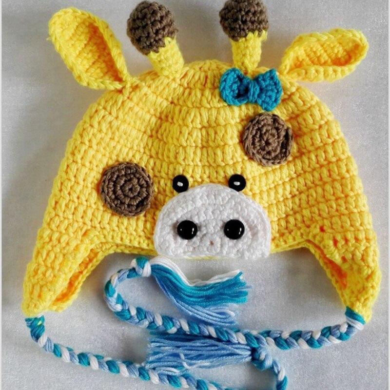 Babymütze Häkeln Ohr Kuh Motorhaube 0 12 Monate Handgefertigten Hut ...