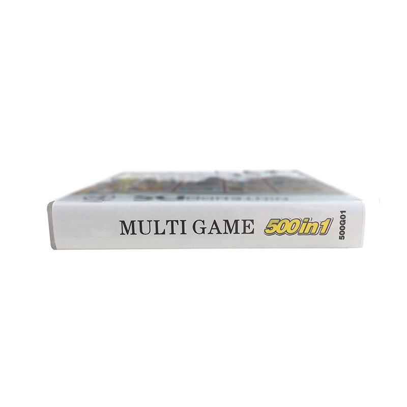 500 Em Compilações 1 3DS Cartucho de Cartão de jogo Para DS Do Jogo de Vídeo Game Console Super Combo Multi Carrinho