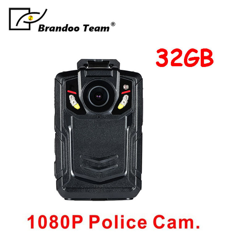 Hot sale!! Ambarella A12 full HD 1080P 32GB police body worn camera for security guard,free shipping. free shipping ambarella a2 1080p 30fps hd police camera police body worn camera action body police camera